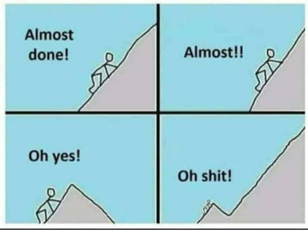 Peur de ne pas y arriver ; peur de l'échec
